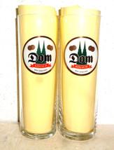 2 Dom Kolsch Cologne German Beer Glasses - NEW - $12.95