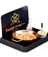 DOLLHOUSE Vegetables Sauteed in Pan Skillet Stir-fry 1.467/5 Reutter Min... - $17.34