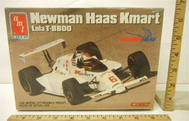 Vintage 1989 1:25 AMT Ertl Newman Hass KMart Lola T-8800 #6753 Model Kit - $18.69