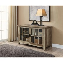 Wood TV Stand Console Buffet Table Rustic Media Entertainment Cabinet wi... - $177.99