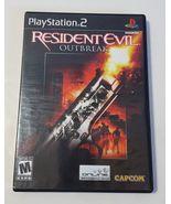 Resident Evil: Outbreak - PlayStation 2 PS2 2003 Black Label BL CIB Comp... - $20.74