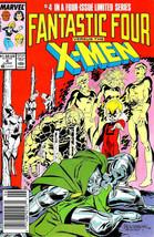 Fantastic Four Vs. X-Men #4 (Newsstand) VG; Marvel   low grade comic - s... - $1.99