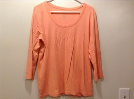 J. Jill Perfect Pima Cotton Ballet Sleeve Pullover Shirt Sz LG