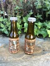 Vintage Miniature Budweiser Bottles Salt & Pepper Shaker Set  - $8.86