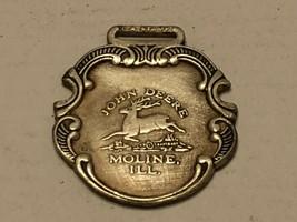 Vintage Watch Fob - John Deere Moline, ILL. - $30.00