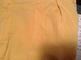 Ben Silver Charleston Mustard Yellow Cuffed Pants image 5