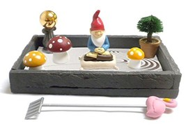 Gnome in the Home Tabletop Zen Garden - $23.67