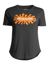 Splat Nickelodeon Nick Toons Juniors' Graphic Logo T-Shirt Size Small - $14.99