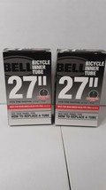 """2 Bell 27"""" x 1 1/8 - 1 1/4 Standard Valve Bicycle Inner Tubes Fits 700c Road - $9.49"""