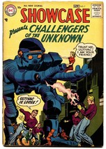 SHOWCASE  #7-1957-DC-2ND CHALLENGERS OF THE UNKNOWN-JACK KIRBY - $357.69