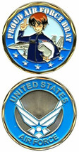 USAF PROUD AIR FORCE BRAT CHALLENGE COIN - $17.09