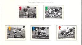 GREAT BRITAIN Football Legends1996 Set of 5 MNH Scott 1663-67  SG 1925-29 - $1.85