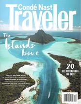 Conde Nast Traveler One Year / 8 Issues - $10.00