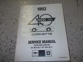 1993 Chevy Corvette Preliminary Service Shop Repair Manual Factory Gm Oem - $98.98