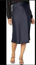 LAUREN Ralph Lauren WOMENS  Satin Skirt (Lauren Navy) SIZE 8 - $28.50