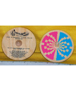 """Whirligig spinning Top, """"Toy To The World"""" custom imprint, Toycrafter 1990 - $7.50"""