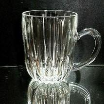 1 (One) MIKASA PARK LANE Cut Lead Crystal Mug DISCONTINUED - $21.65