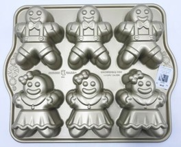 Nordic Ware Gingerbread Kids Cakelet Pan Williams Sonoma - $29.99