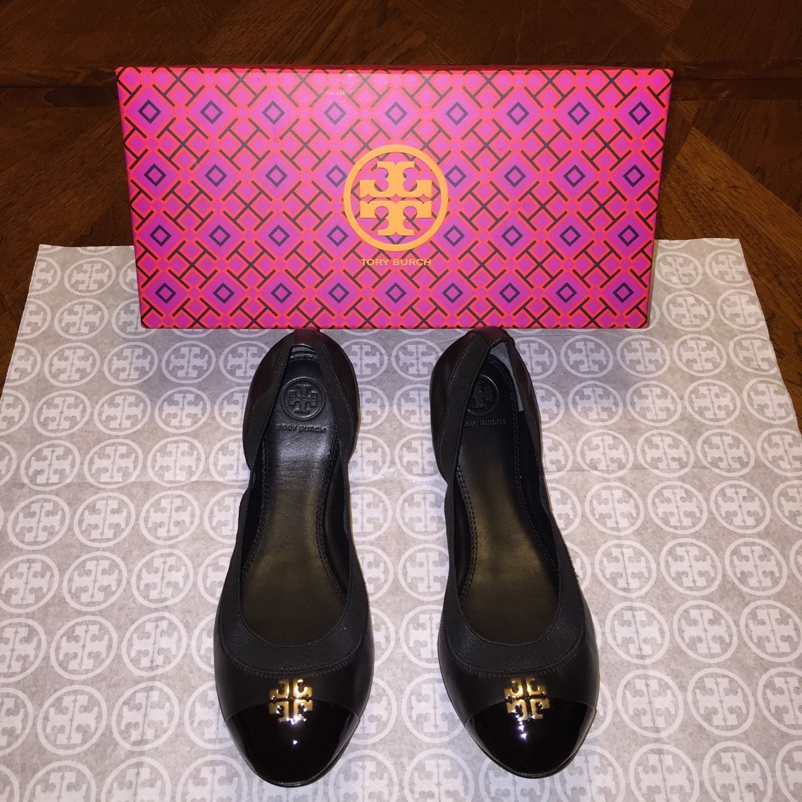 af058b253557 NIB Tory Burch Jolie Ballet Flat Size 9 in and 50 similar items. S l1600