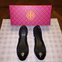 NIB Tory Burch Jolie Ballet Flat Size 9 in Black - $195.99
