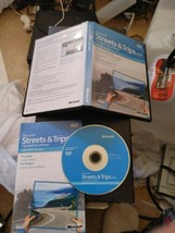 Streets & Trips Trip Planning Software 2009 No GPS Locator Included DVD ... - $12.19
