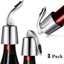 Stainless Steel Wine Stoppers Bottle Vacuum Sealer Bottle... - £28.27 GBP