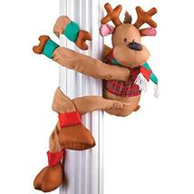 Collections Etc Poseable Reindeer Christmas Greeter Decoration - $60.00