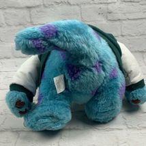"Monsters Inc. 12"" Sully Plush w/ Varsity Jacket Disney Store Genuine Original image 9"