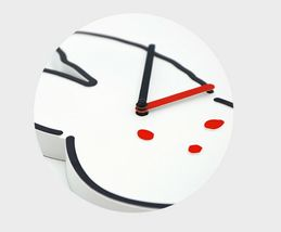 Brunch Brother Wall Clock Non-Ticking Silent Decorative Modern Clock (Rabbit) image 5