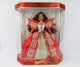 Happy Holidays Barbie 10th Anniversary Special Edition 1997 - $18.07