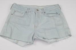 Women GAP 1969 Cut-Off Frayed Bleached Patchwork denim jean shorts Size ... - $9.89