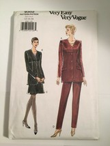 Vogue Sewing Pattern 9302 Size 12 14 16 Jacket Skirt Pants 1995 NEW OLD ... - $11.63