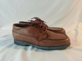 J.P. Tod's Women's Size 39.5 US 9 Lace Up Oxford Driving Shoes Brown  - $70.13