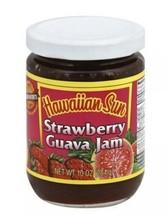 Three(3) Hawaiian Sun STRAWBERRY GUAVA JAM Hawaii - $37.25
