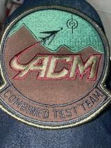 Vintage US Air Force ACM Combined Test Team Patch USAF - $3.99