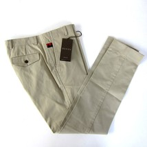 J-3134969 New Gucci Tan Stretch Gabardine Trousers Pants Size US 30 Mark... - $284.99