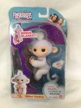 Fingerlings Sugar Glitter Monkey Action Figure Plus Bonus Blanket - $13.99
