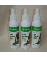 Gaiam Yoga MAT WASH Exercise Cleaner Pilates Remove Sweat Lot of 3 Bottl... - $24.74