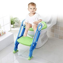 Potty Training Seat with Step Stool Ladder,Toddler Toilet Seat Adjustable Baby T