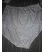 National Brand 6 prs cotton Briefs  Pantys nwt (6pairs )sz 8 white,pink,... - $8.91
