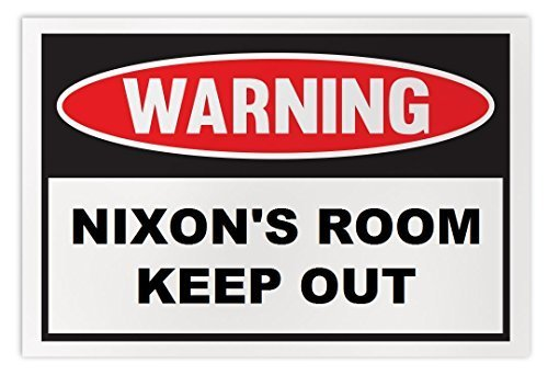 Personalized Novelty Warning Sign: Nixon's Room Keep Out - Boys, Girls, Kids, Ch