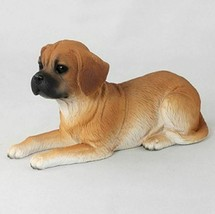 PUGGLE DOG Figurine Statue Hand Painted Resin Gift  - $19.99