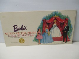 Vintage 1963 BARBIE QUEEN OF THE PROM Board Game by Mattel in Original Box - $40.00