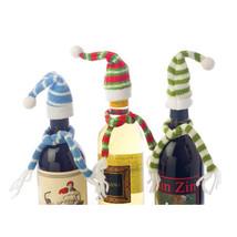 Bottle Topper, Hat Scarf Decorative Bundled Champagne Wine Liquor Bottle... - $16.99