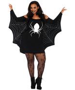 Spiderweb Plus Size Jersey Tunic Dress  - $22.47