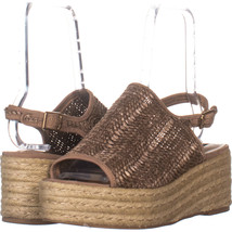 Steve Madden Courage Espadrilles Sandals, Cognac Multi 703, Cognac Multi... - $24.95