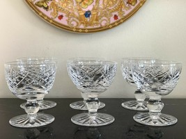 Waterford Crystal Donegal Cut Liquor Glasses Set of 6 - $125.00