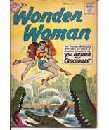 DC Wonder Woman #110 Diana Prince The Bridge Of Crocodiles Amazon Adventure - $99.95