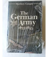 German Army 1933-1945 Paperback 1990 Matthew Cooper - $14.84