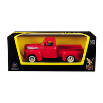1948 Ford F-1 Pickup Truck Red 1/43 Diecast Model Car by Road Signature 94212r - $17.27